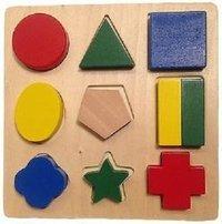 Wooden Block Shape Puzzle