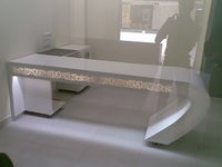 Corian Office Table With Led Light