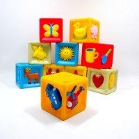 Custom Making Plastic Building Blocks Baby Toy
