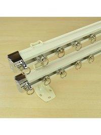 Double Curtain Track Rail