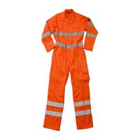 Industrial Worker Hi Reflective Jumpsuit
