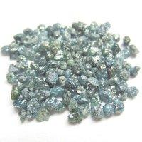 Blue Diamond Uncut Beads