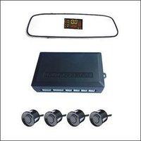 Car Parking Sensor Rearview Mirror LED Display