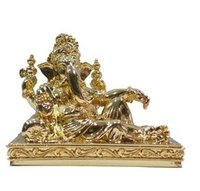Ganesha Gold Plated Statue