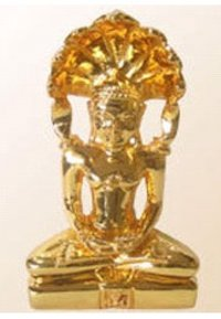 Parsvnath Gold Plated Statue
