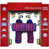 Automatic Roll Over Car Wash Machine with Fix Blower