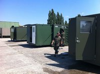 Expanding Military Sanitary Shelter