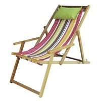Portable Wooden Beach Chair