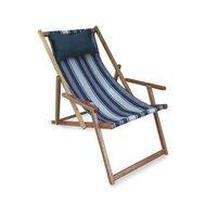 Wooden Deck Beach Chair
