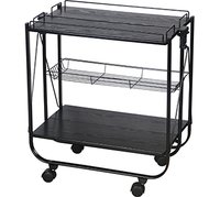 Foldable Kitchen Trolley