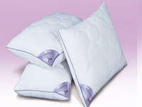 Pillow Lavender With Suede Fabric And Micro Fibre