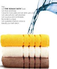 Roman Ultra Soft Pure Cotton Face Towel - 480 Gsm