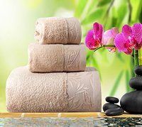 Super Soft And High Absorbent Bamboo Face Towel 360 Gsm