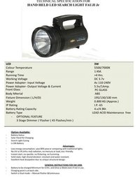 Hand Held Led Search Light