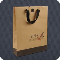 Printed Brown Kraft Paper Bags