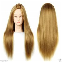 31 Inch Long Silky Imported Soft Hair Dummy For Trainers