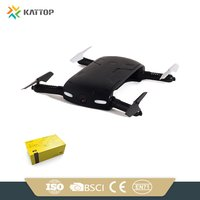 Folding Rc Pocket Drone Plastic Toy Wifi Drone