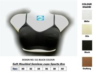 Soft Moulded Seamless Cups Sports Bra