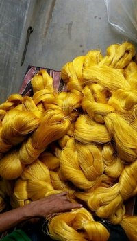 Raw Mulberry Silk Thread Fibres