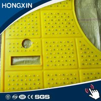 Oilfield Rig Fire Resistant Polyurethane Anti Slip Rubber Safety Mat
