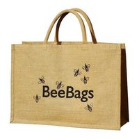 Printed Jute Shopping Bag in Delhi