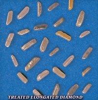 Treated Elongated Diamond