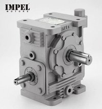 Worm Reduction Gearbox (Cast Body)