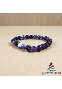 Amethyst Beads Bracelet