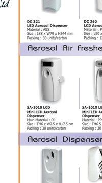 Mini LCD Aerosol Dispenser