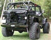 Off Road Jeep Bumper