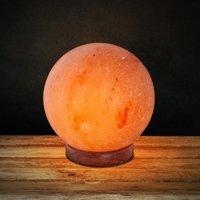 Rock Salt Lamp Ball Shaped