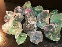 Multi Fluorite Raw Stone
