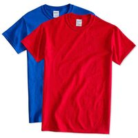 Round Neck Single Color T-Shirts
