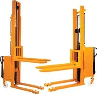 Battery And Manual Operated Stacker