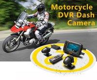 HFK Motorcycle DVR Dash Cam with IP Waterproof