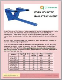 Fork Mounted Ram Attachment