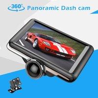 5 inch 360 Degree Panoramic Dash Cam