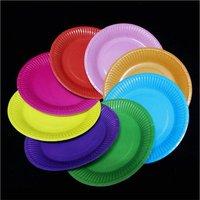 Colored Plastic Plates