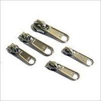Metallic Zippers