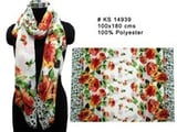 Polyester Floral Printed Stoles