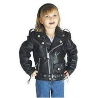 Designer Leather Kids Jacket