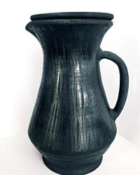 Finest Quality Terracotta Water Jug Black