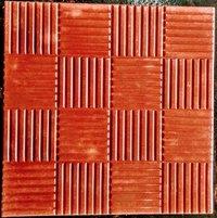 Pencil Design Chequered Tiles