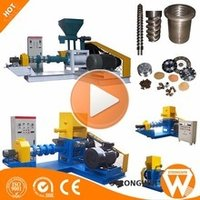 Complete Automatic Shrimp Floating Fish Feed Pellet Making Plant