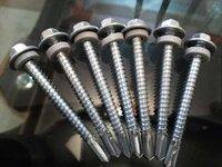 Galvanized Screws With Rubberized Washers