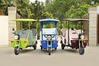 Eco-Friendly Electric Rickshaw