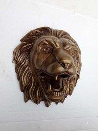 Decorative Lion Head Statue