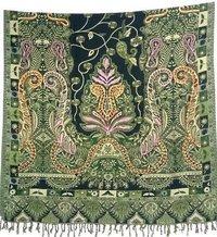 Ladies Aari Work Acro Wool Shawl