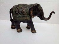 Metal Elephant Decorative Sculpture