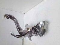 Wall Mounted Decorative Elephant Head